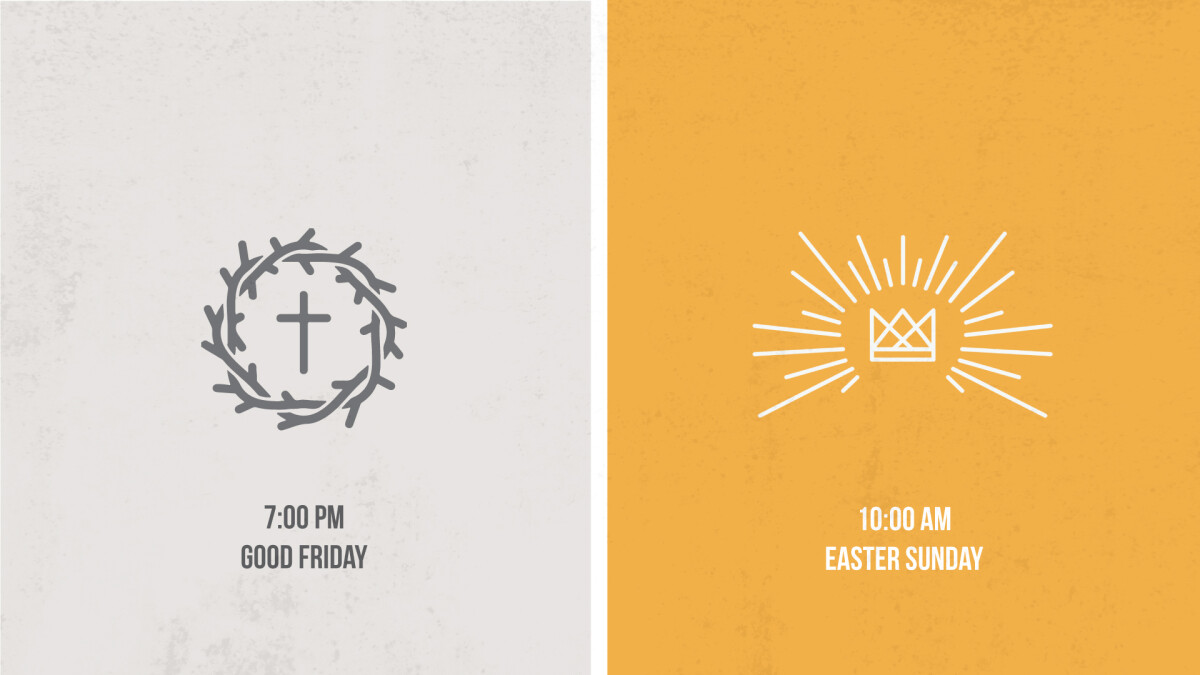 Good Friday & Easter Service